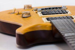 Guitar Repairs image of an electric guitar